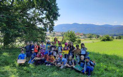 Športni dan tretješolcev: po skrivnostni rimski poti